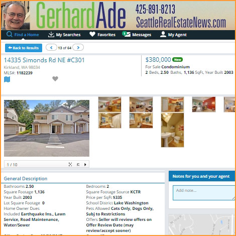 Seattle Real Estate Search
