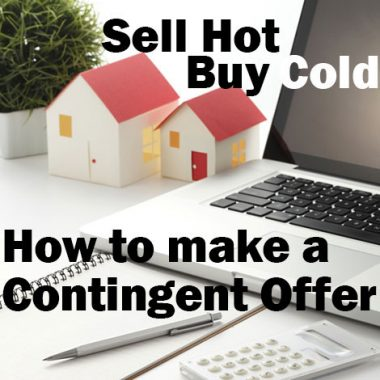 Contingent offer - sell hot, buy cold
