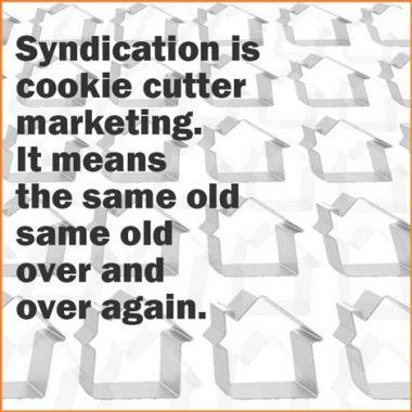 cookie cutter marketing