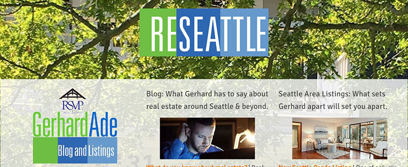 Gerhard Ade | For Seattle area home sellers