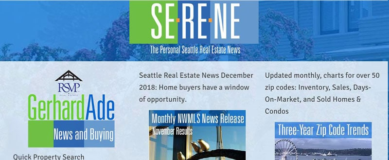 Gerhard Ade | For Seattle area home buyers