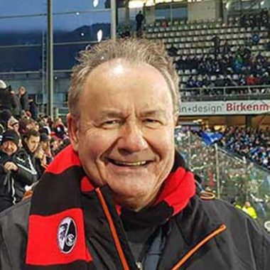 My Germany Journey - Gerhard Ade at SC Freiburg match