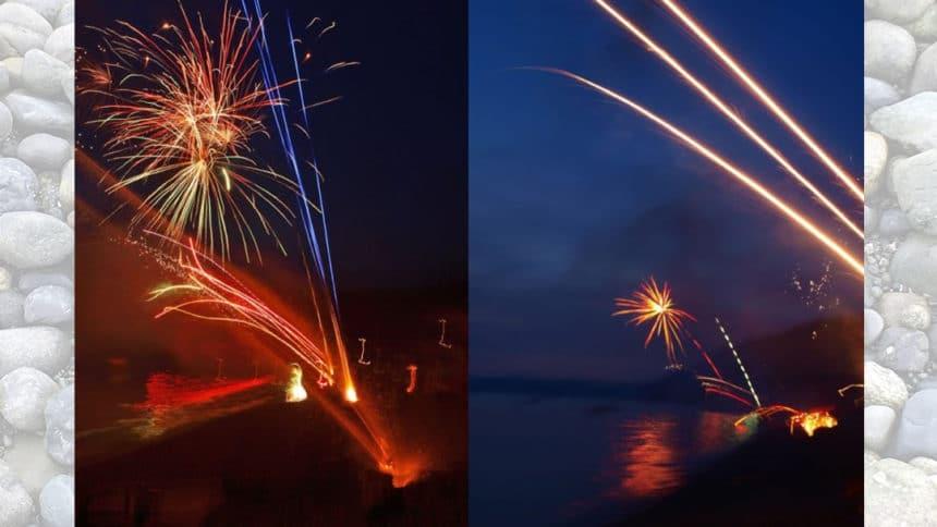 Fireworks at Madrona Beach