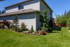 Redmond Ridge home sale exterior back