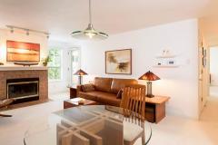 Seattle Maple Leaf Condo Living Room