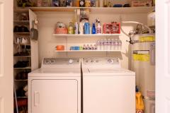 Seattle Maple Leaf Condo Laundry Closet