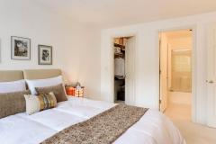 Seattle Maple Leaf Condo Master Bedroom Suite