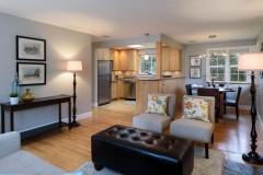 West Bellevue home for sale-living