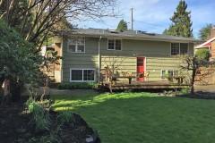 West Bellevue home for sale-back