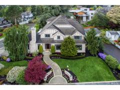 West Bellevue luxury home for sale front