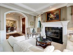 West Bellevue luxury home for sale living room 2