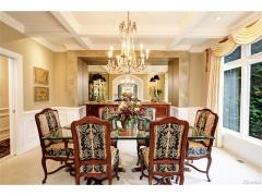 West Bellevue luxury home for sale dining room