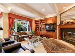 West Bellevue luxury home for sale family room