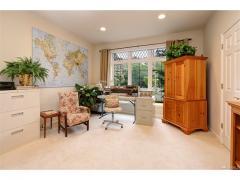 West Bellevue luxury home for sale main level bedroom