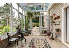 West Bellevue luxury home for sale conservatory gazebo