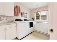 West Bellevue luxury home for sale laundry room