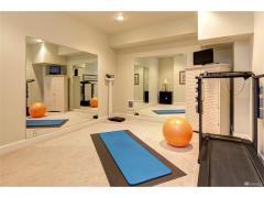 West Bellevue luxury home for sale basement